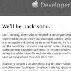 Sicherheit: Angriff auf Apples Entwickler-Community