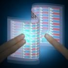 E-Skin: Elektronische Haut leuchtet bei Berührung