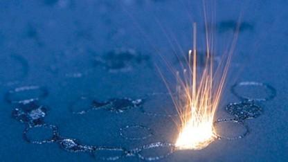 EOS-Lasersinter-Prozess Metallzahnkronen