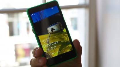 Findet bald Schlüssel: Nokia Lumia Smartphone
