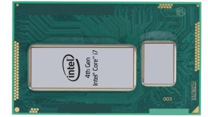 Haswell-Package für mobile Geräte mit CPU und Chipsatz