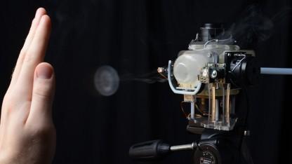 Aireal soll haptisches Feedback in der Luft erzeugen.