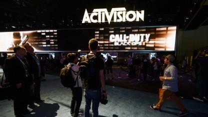 Activision Blizzard auf einer Spielemesse