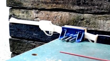 Gedrucktes Gewehr Grizzly: vor Gefahren durch gedruckte Feuerwaffen gewarnt