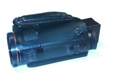 Die präparierte Kamera der Abfilmerin