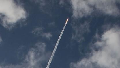 Start der Ariane 5 mit Alphasat: erster Alphabus-Satellit