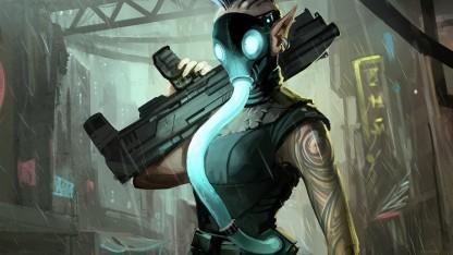 Artwork von Shadowrun Returns