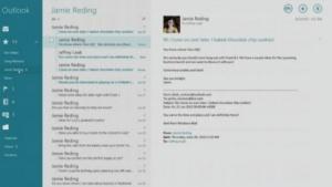 Neue Mail App für Windows 8.1