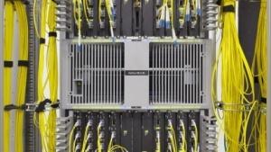 DE-CIX-Switch-Kabelanschlüsse