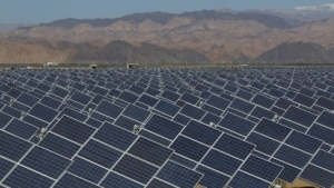 Solaranlage (Symbolbild): alle Rechenzentren mit sauberer Energie betreiben