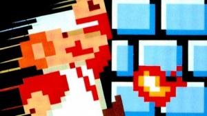 Verpackungsartwork einer Super-Mario-Bros.-Version