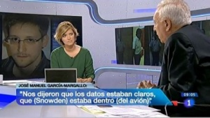 Spaniens Außenminister García-Margallo (rechts)