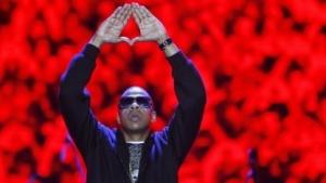 Rapper Jay-Z bei einem Konzert