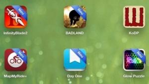 Neu installierte Apps auf einem iPad