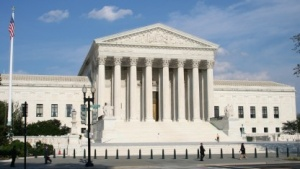 Der Oberste Gerichtshof der USA in Washington