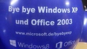 Windows XP wird nur noch bis April 2014 von Microsoft unterstützt.