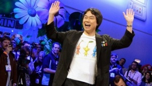 Shigeru Miyamoto auf der E3 2013