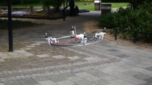 Drone It Yourself: Alle Felgen fliegen hoch.