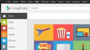 Googles neuer Play Store für den Browser