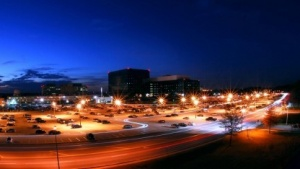 Undatierte Aufnahme des NSA-Hauptsitzes in Fort Meade, Maryland