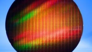 Wafer mit Flash-Bausteinen in 16 Nanometern Strukturbreite