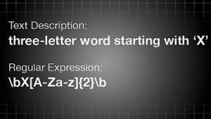 System erzeugt regulären Ausdruck aus natürlicher Sprache.