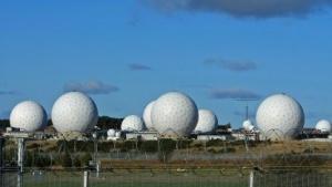 Der NSA-Standort in Menwith Hill in Großbritannien