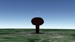Nukemap3D: keine Vorstellung über die Auswirkungen einer Atombombe