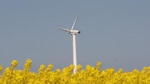 Windkraftanlage (Symbolbild): witterungsbedingte Schwankungen ausgleichen