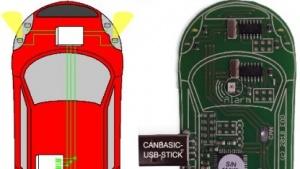Der CAN-Bus lässt sich hacken und damit ein Auto über einen Laptop steuern.