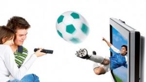 Ein neues Bildverarbeitungsverfahren rechnet automatisch aus, wo man sich vor dem Fernsehgerät befindet.