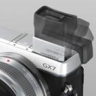 Panasonic: Lumix GX7 mit Schwenksucher und Wackelsensor