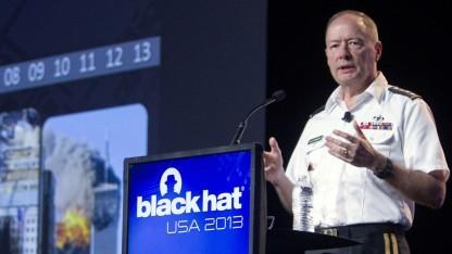 NSA-Chef Keith Alexander auf der Sicherheitskonferenz Black Hat 2013