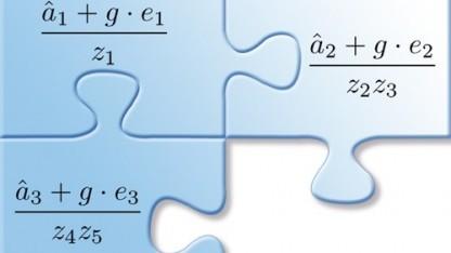 Ein multilineares mathematisches Puzzle