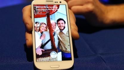 Facebook Home auf einem Samsung Galaxy S3