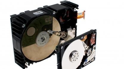 Die Platine einer Festplatte kann für schwer entdeckbare Angriffe verwendet werden.