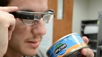 Google Glass hilft bei der Identifikation von Gegenständen.