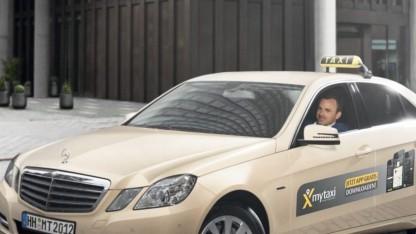 Taxis als Lieferwagen