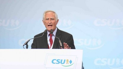 CSU-Rechtsexperte Norbert Geis