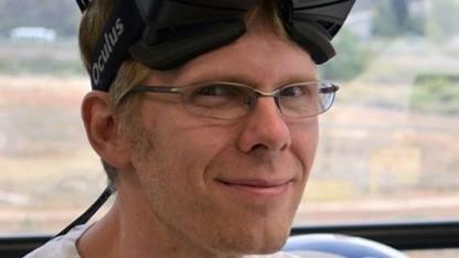John Carmack mit Oculus Rift