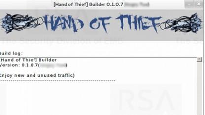 Der Banking-Trojaner Hand of Thief läuft unter Linux.