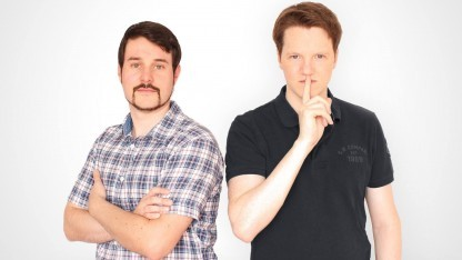 Michael Bank und Daniel Wirtz