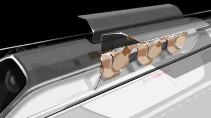 Elon Musk enthüllt Hyperloop-Pläne.