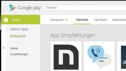 Fehler bei der Installation von Android-Apps über Googles Play Store