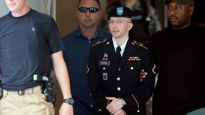 Bradley Manning (nach dem Schuldspruch am 30. Juli 2013): Persönliche Probleme sind keine Entschuldigung.