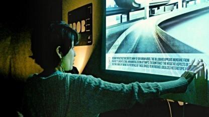 Übi kombiniert Kinect und Windows 8 für Touch-Oberflächen.