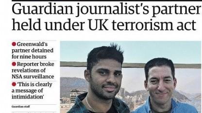 Titelblatt des Guardian