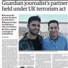 Anti-Terror-Gesetz: Partner von NSA-Enthüller Greenwald stundenlang festgehalten