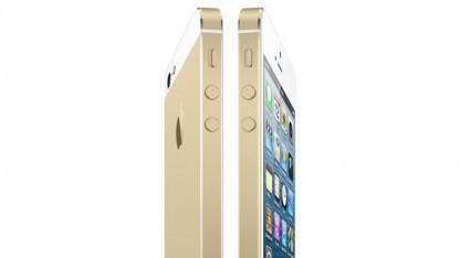 So könnte das goldfarbene iPhone 5S aussehen.