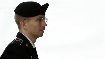 Bradley Manning am 21. August 2013